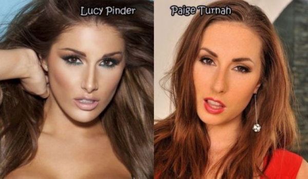 Celebrities And Their Porn Star Look A Likes Sfw The