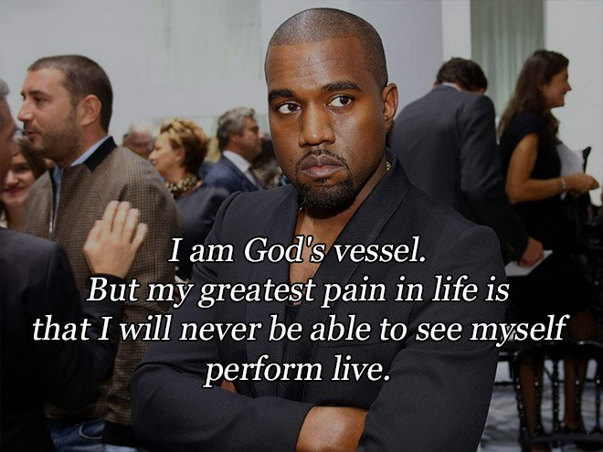 12 Great Kanye West Quotes! - The Wall of Champions